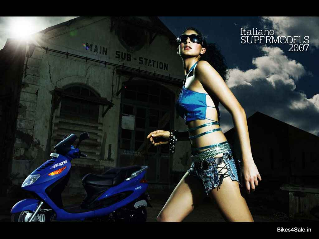 Kinetic Italiano Supermodels 2007 Blaze Flyte