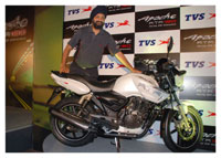 TVS Apache RTR 180 Launch