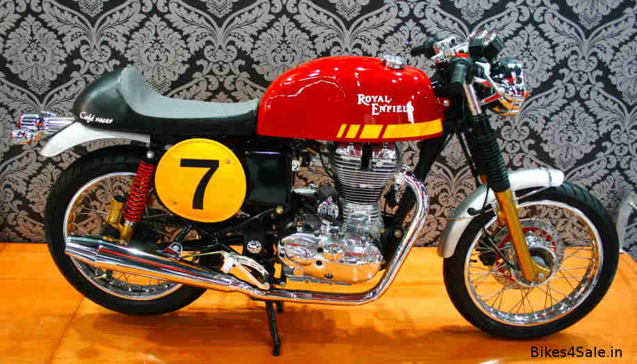 Royal Enfield Cafe Racer model