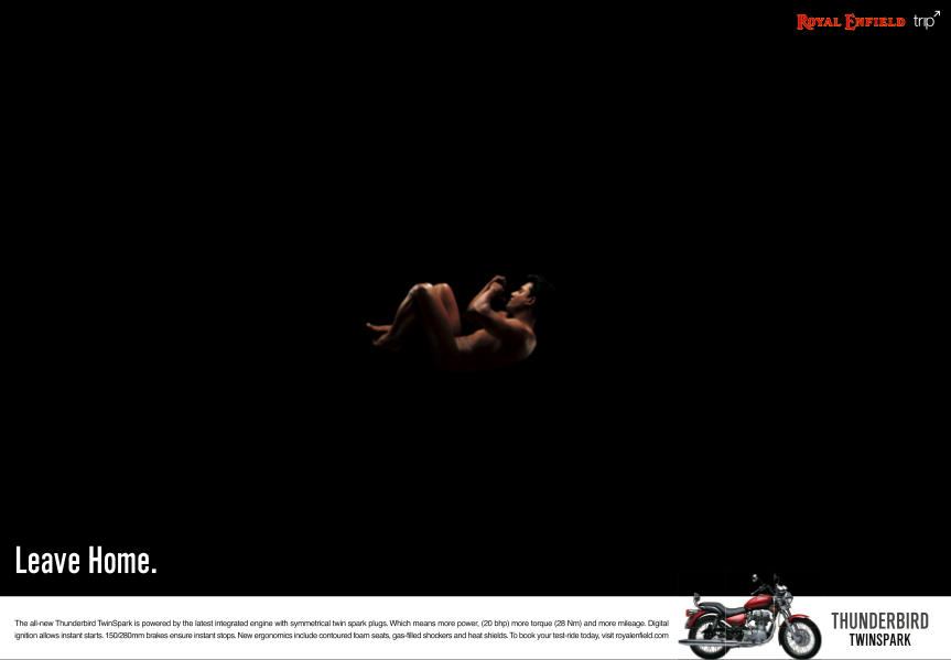 Royal Enfield ThunderBird Twin Spark Trip Campaign Wallpaper