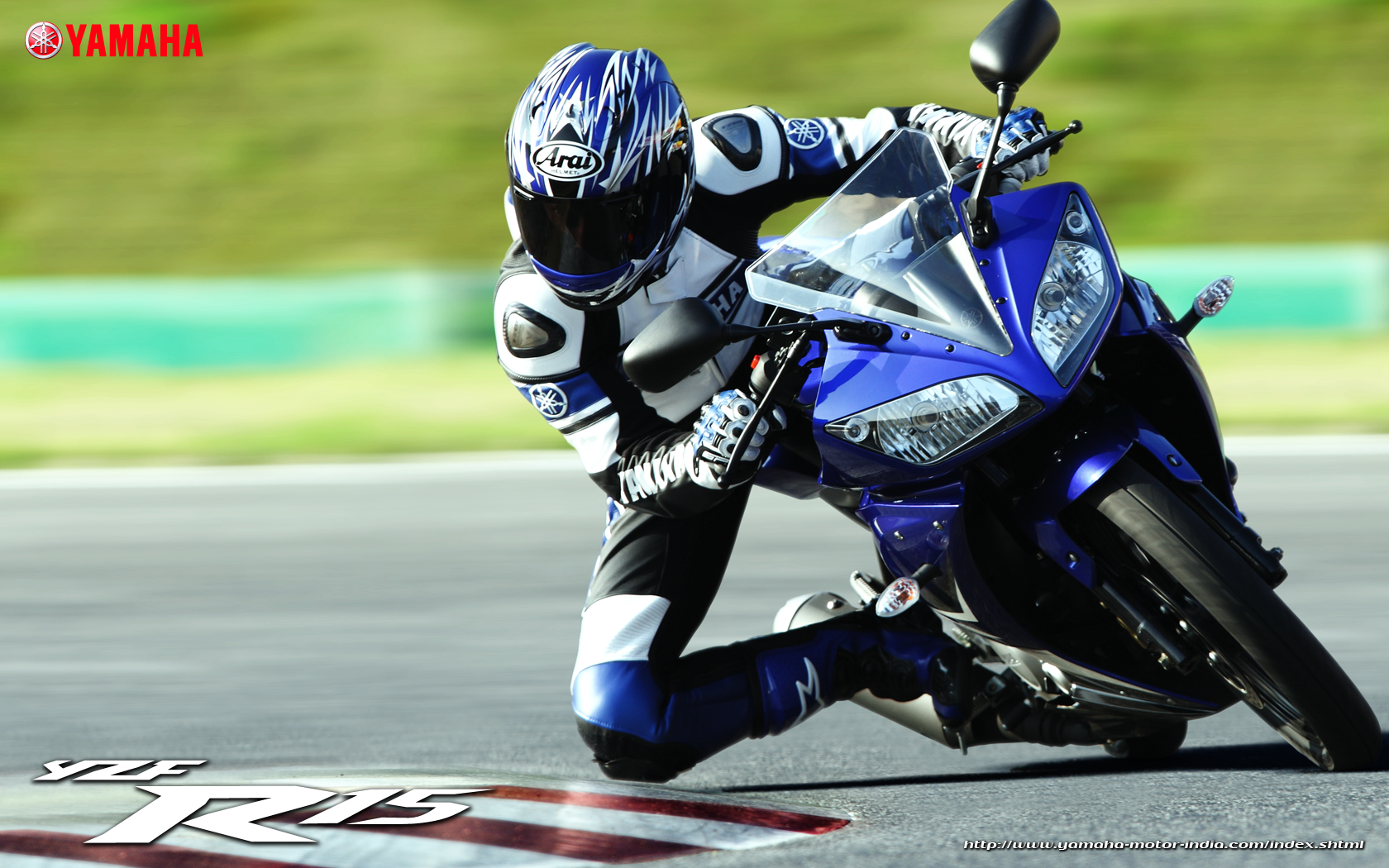 Yamaha fazer white blue images amp pictures becuo - Yamaha Yzf R15 Wallpaper