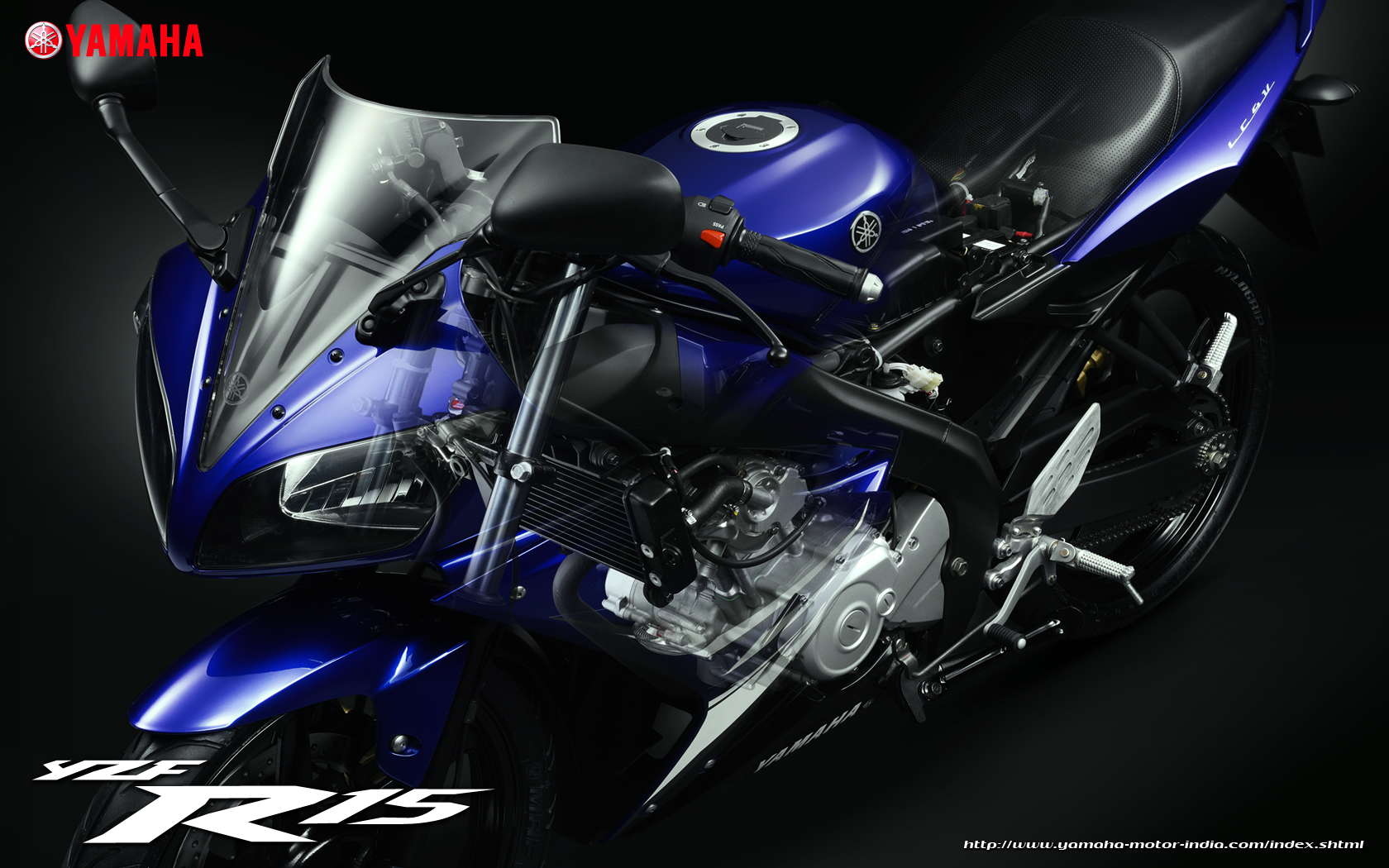 Yamaha YZF R15 Wallpaper