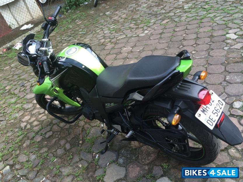Yamaha fz Bike Green Black Amp Green Yamaha fz s