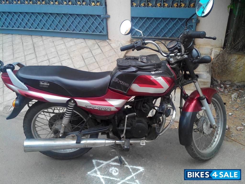 red bajaj ct 100 for sale in chennai the vehicle is well. Black Bedroom Furniture Sets. Home Design Ideas