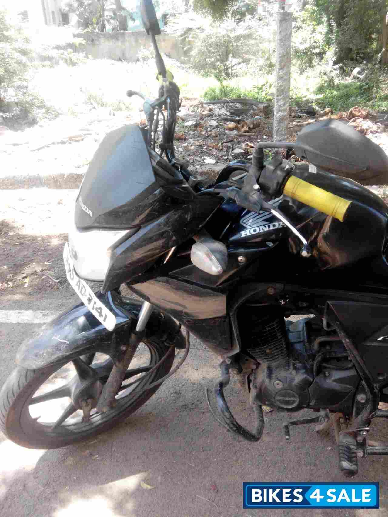 Black Honda Cb Twister For Sale In Chennai Bike Condition