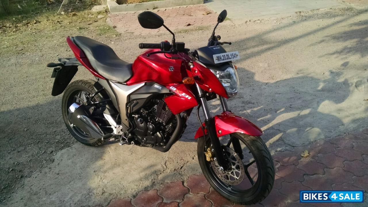 Red Suzuki Gixxer 150 for sale in Thane. Just 1100 km ...