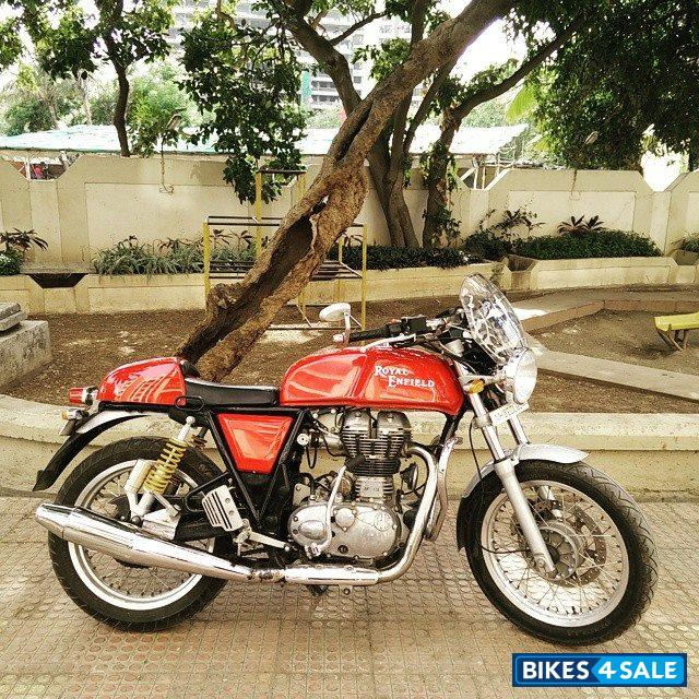 red royal enfield continental gt for sale in mumbai royal enfield continental gt for sale bike. Black Bedroom Furniture Sets. Home Design Ideas