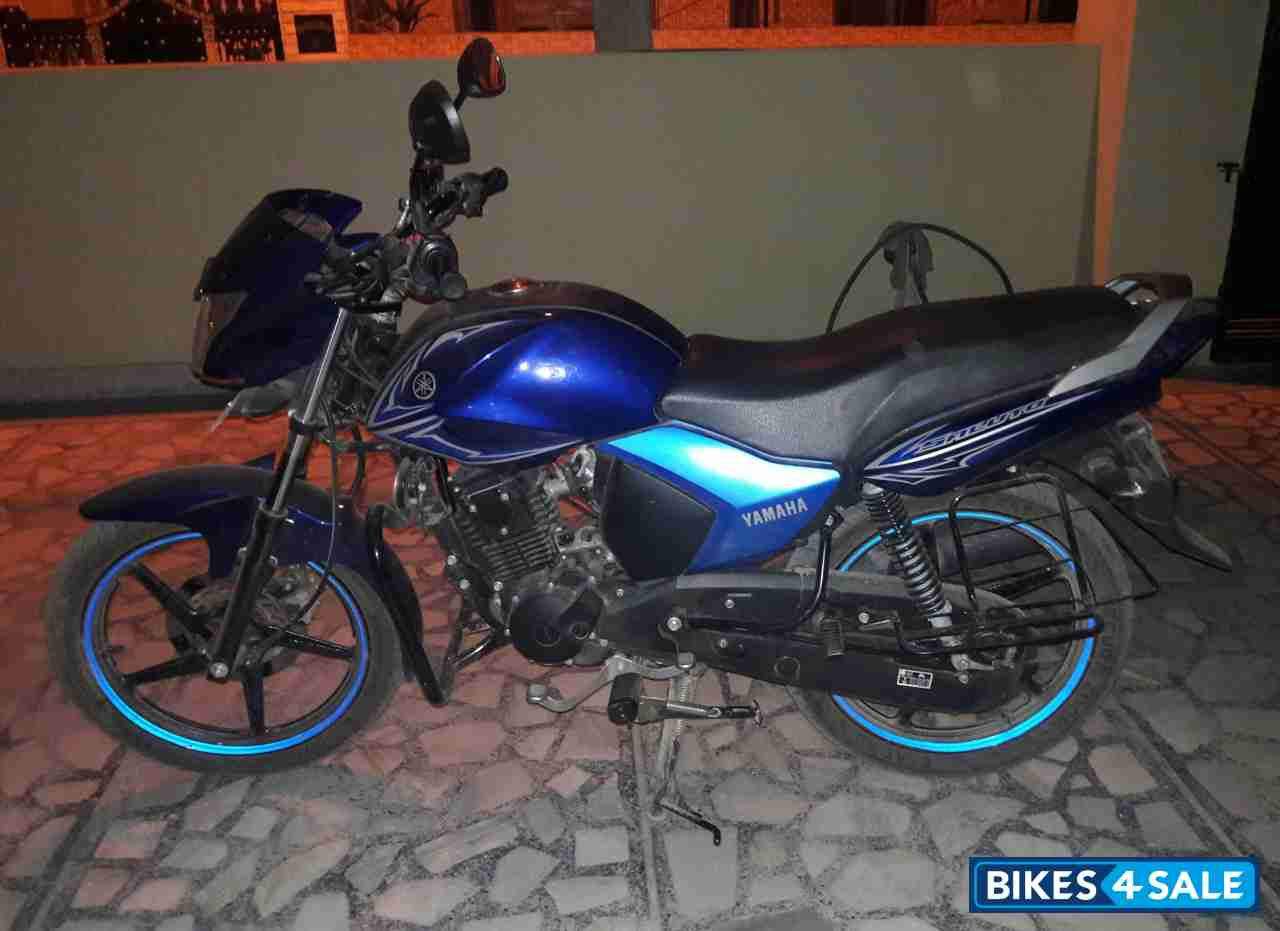 Blue yamaha saluto 125 for sale in mohali having no for Yamaha extended warranty