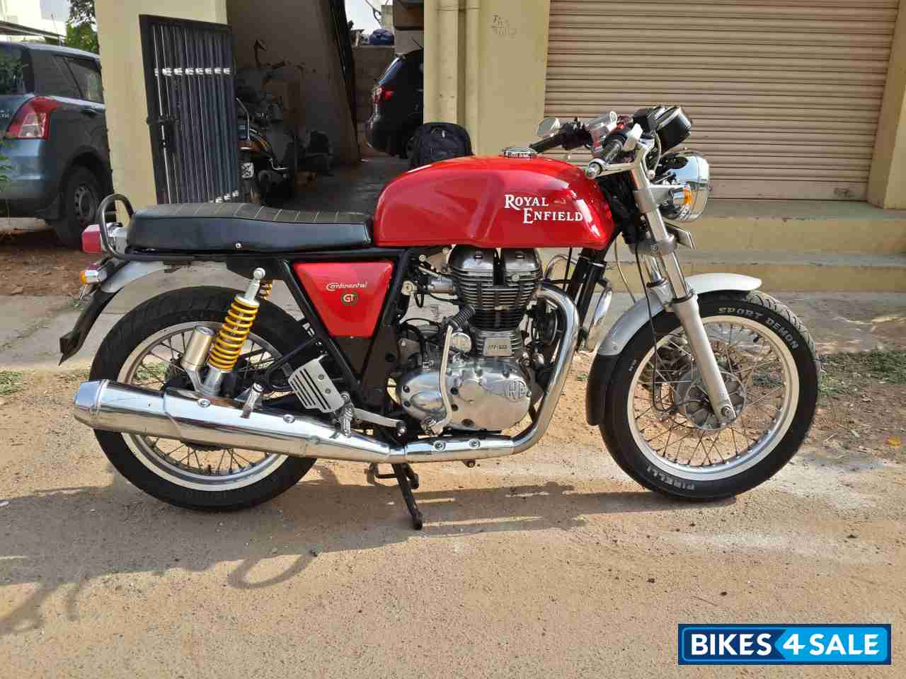 red royal enfield continental gt for sale in bangalore selling my bike as i am going abroad for. Black Bedroom Furniture Sets. Home Design Ideas