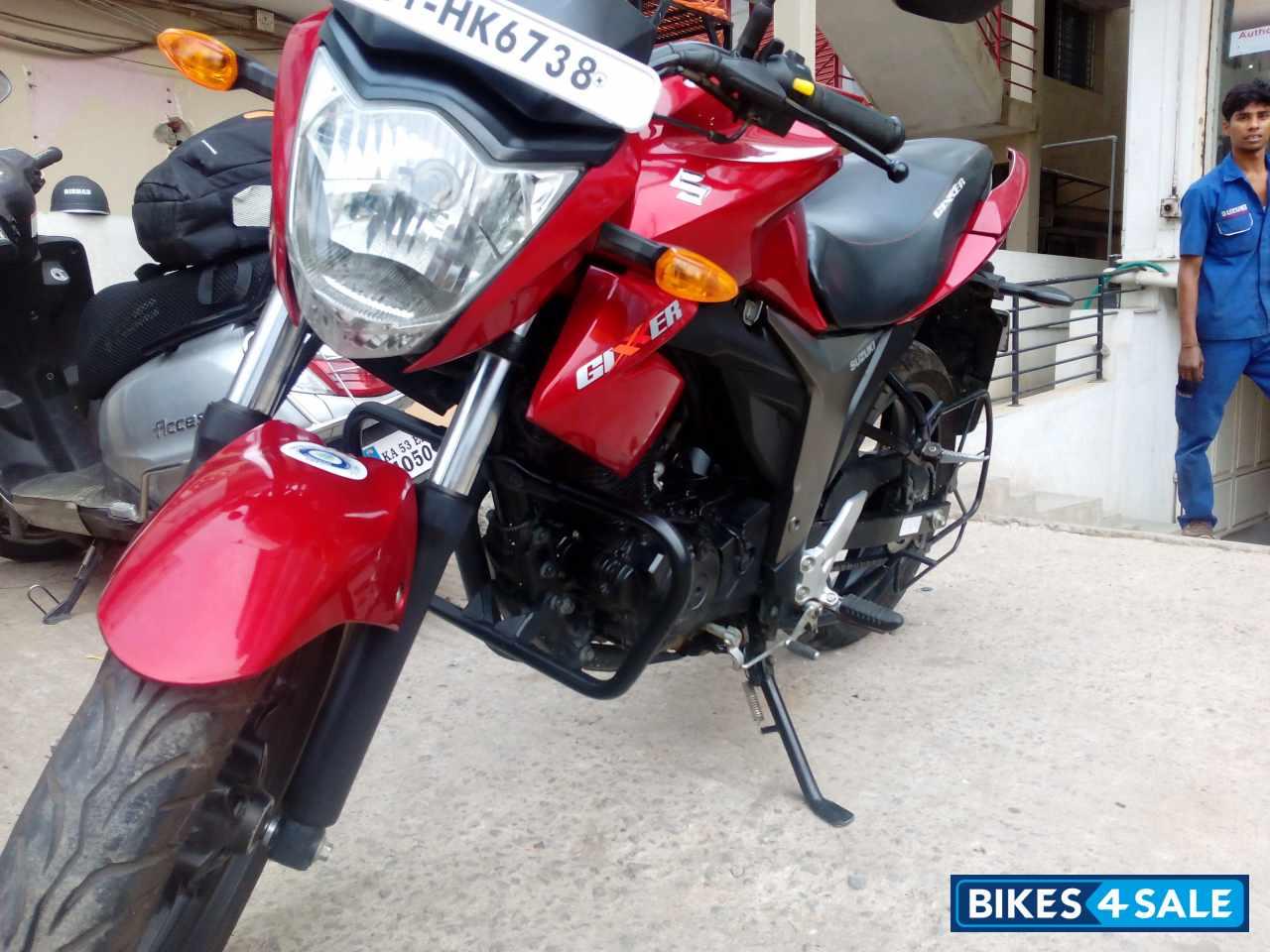 Red Suzuki Gixxer 150 for sale in Bangalore. Brand new ...