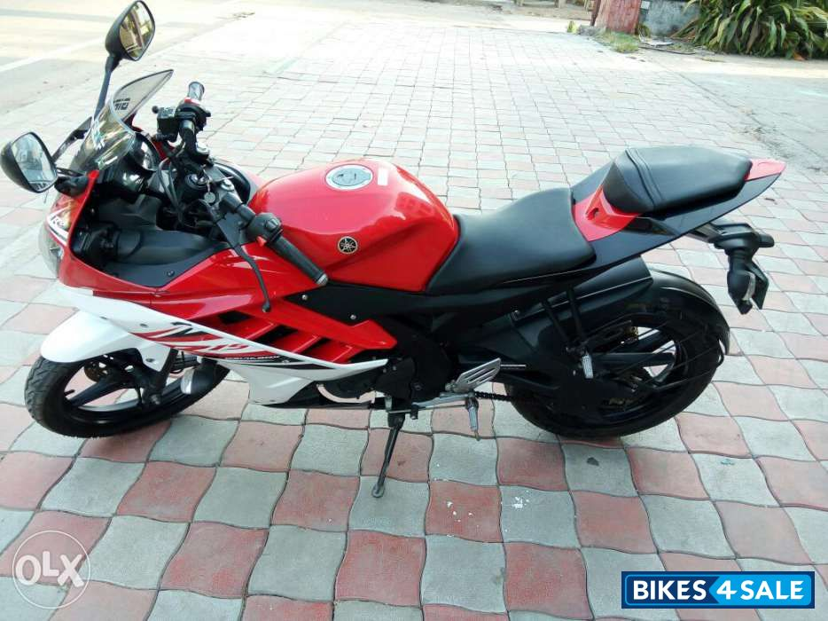 R15 V2 Red And White Red White Yamah...