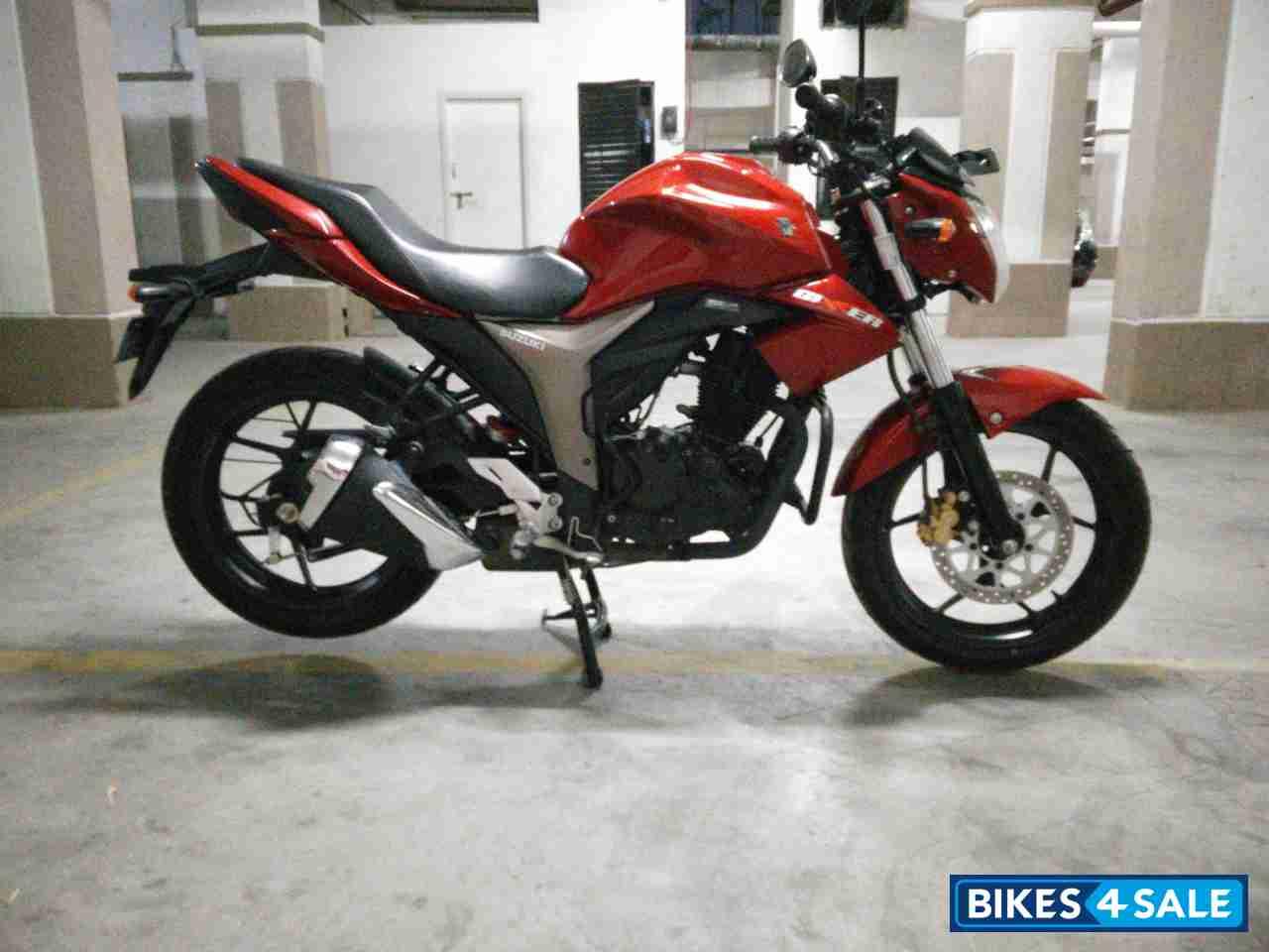 Red Suzuki Gixxer 150 for sale in Hyderabad. Regularly ...
