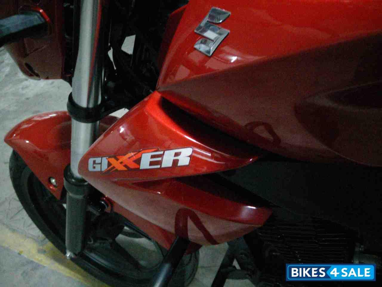 Red Suzuki Gixxer 150 Picture 6. Album ID is 129248. Bike ...