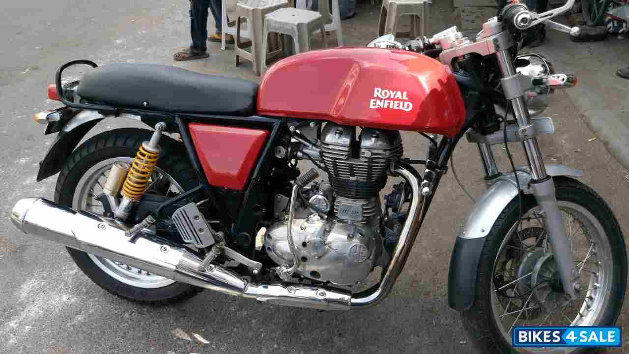 red royal enfield continental gt for sale in vadodara price is rs 1 70 000 id is 130102. Black Bedroom Furniture Sets. Home Design Ideas