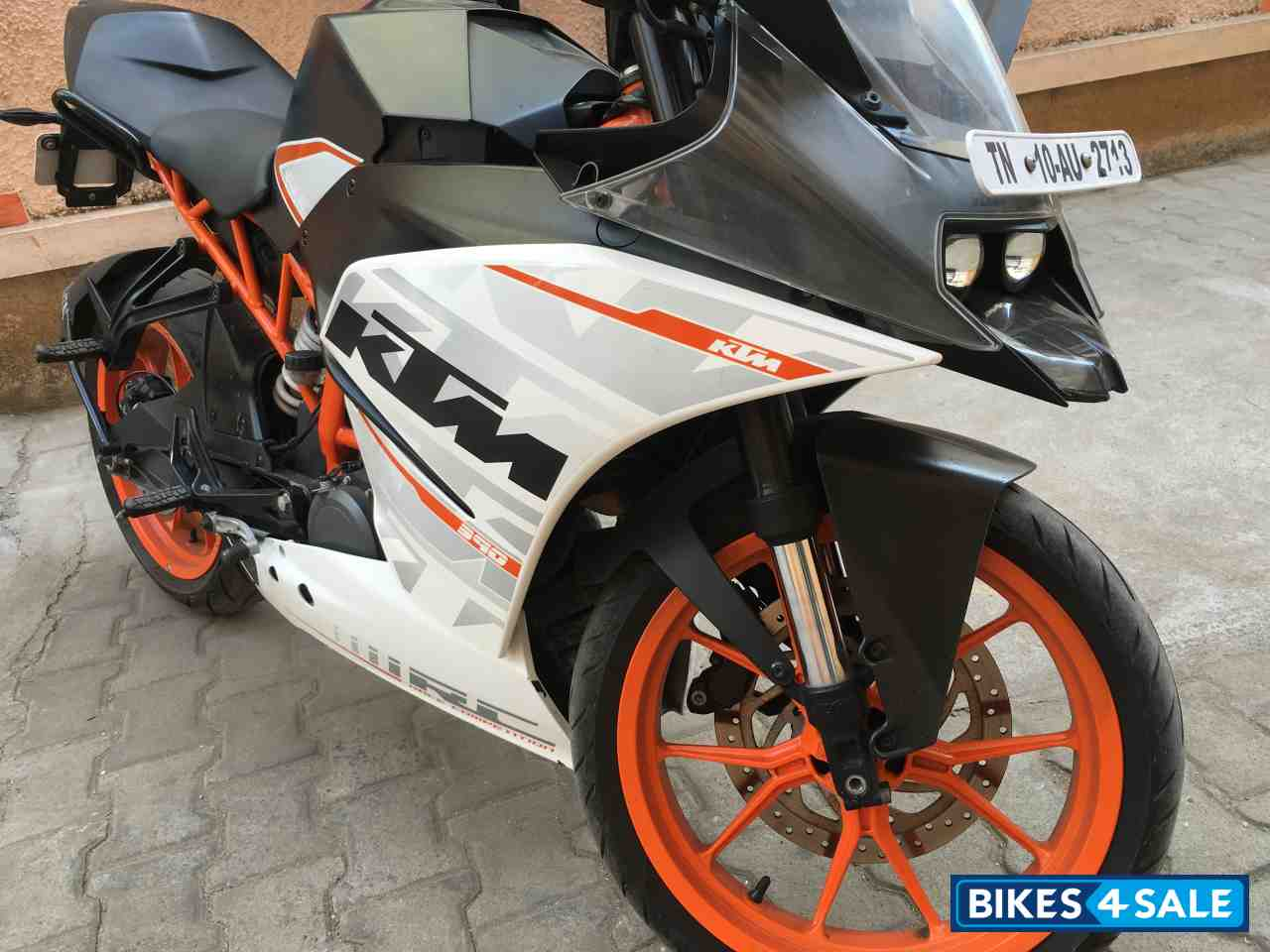 white ktm rc 390 - photo #43