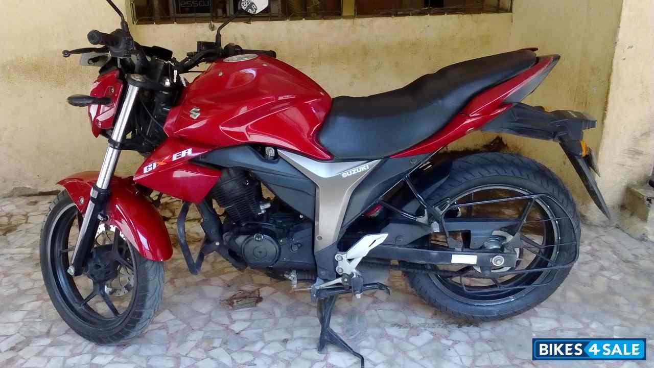 Red Suzuki Gixxer 150 for sale in Mumbai. This suzuki ...