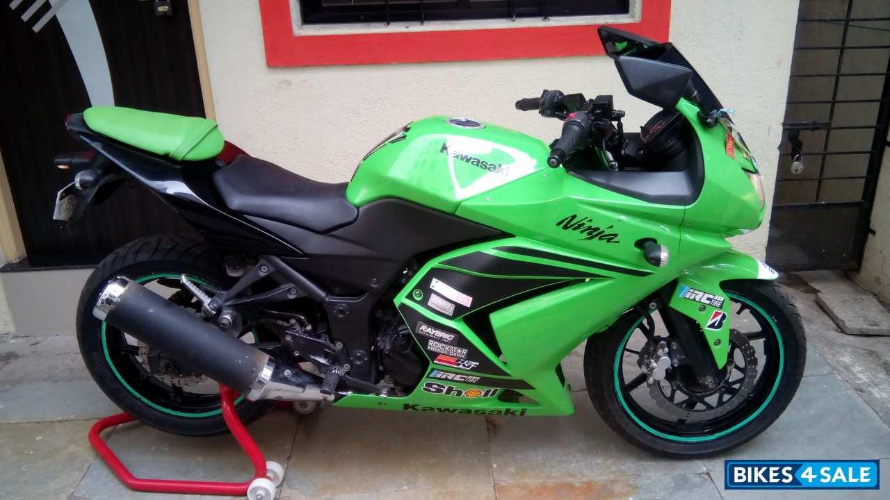 Kawasaki Ninja 250r Green alaskainpics