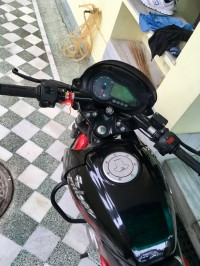 Red Black Bajaj Pulsar 150 DTSi