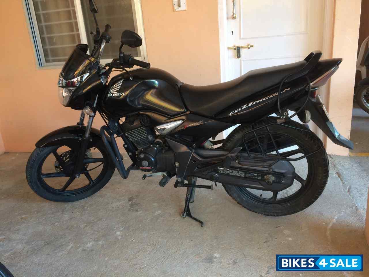 black honda cb unicorn 160 picture 1 bike id 136144 bike located in bangalore bikes4sale. Black Bedroom Furniture Sets. Home Design Ideas