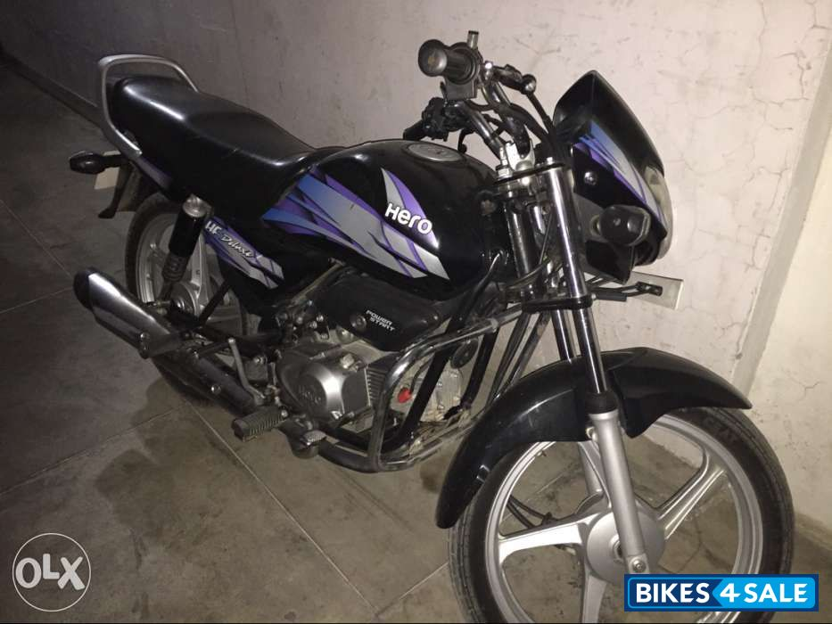 Used 2013 model Hero HF Deluxe for sale in Patiala  ID 142703  Blue