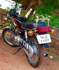 Used Yamaha RX 100 in Coimbatore with warranty  Loan and Ownership
