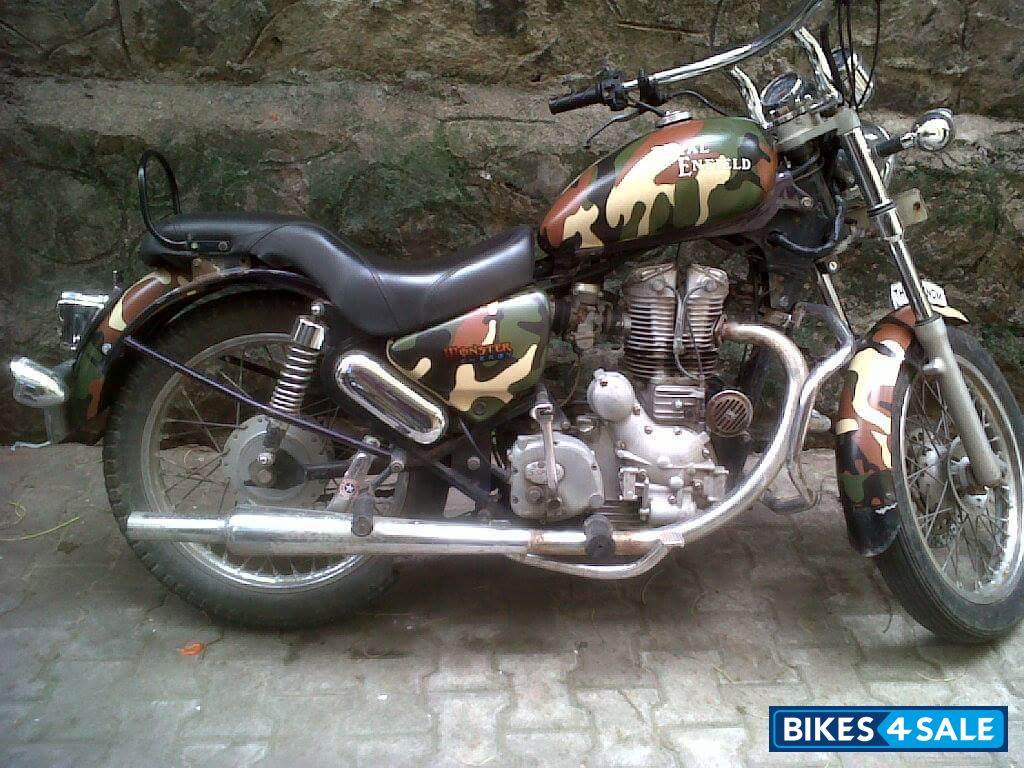 Used 2005 Model Royal Enfield Thunderbird 350 For Sale In Bangalore