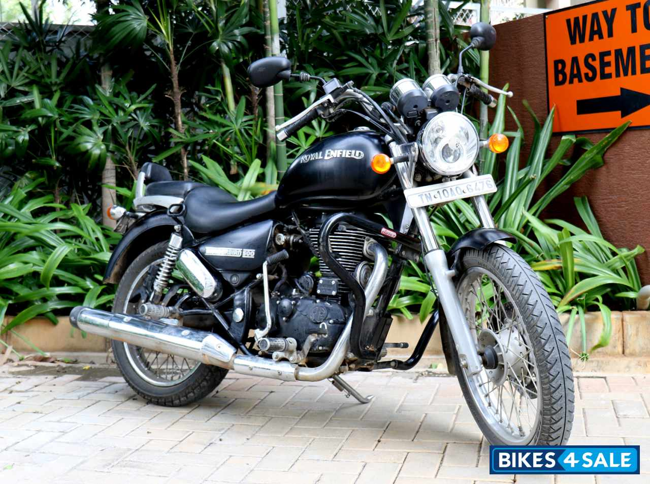 used 2014 model royal enfield thunderbird 500 for sale in chennai