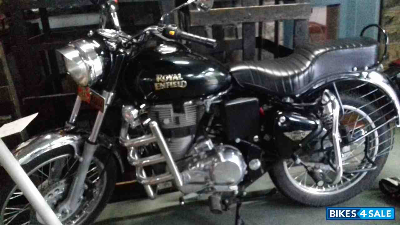 Used 2017 Model Royal Enfield Bullet Electra Twinspark For Sale In Pune Id 172916 Matte Black Colour Bikes4sale