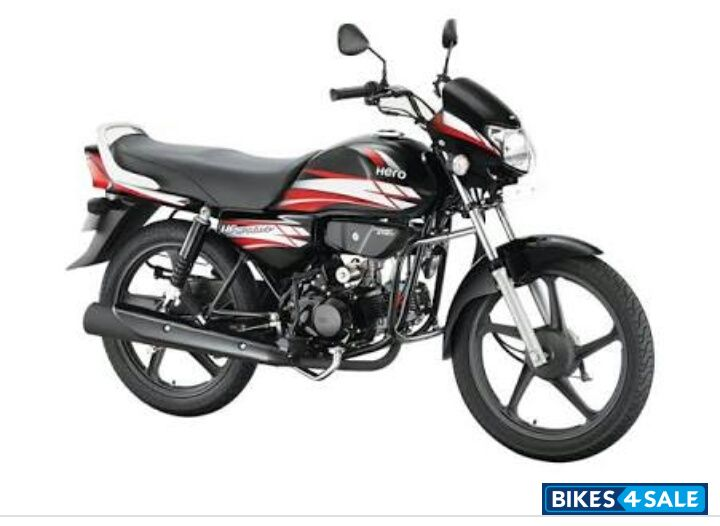 Used 2017 Model Hero Hf Deluxe For Sale In Pune Id 182576 Black Red Colour Bikes4sale