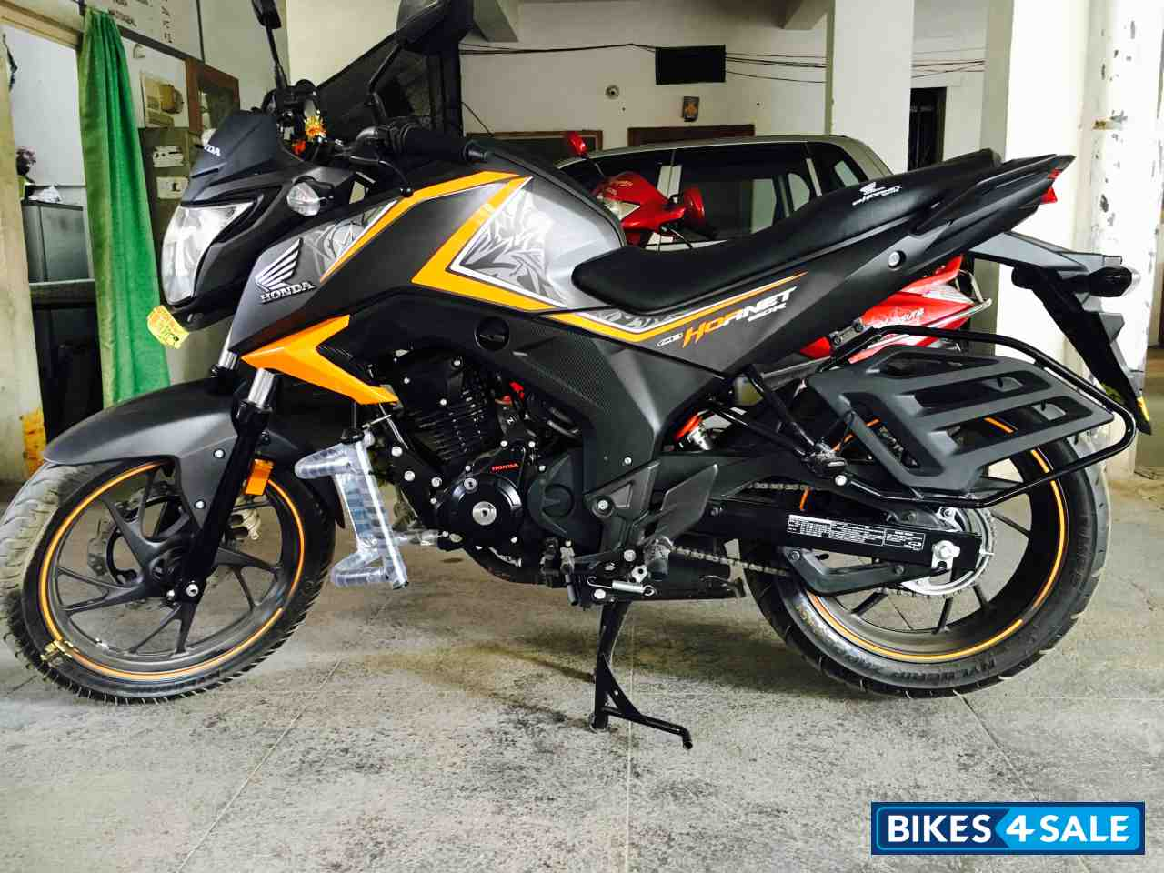 used 2017 model honda cb hornet 160r for sale in hyderabad. Black Bedroom Furniture Sets. Home Design Ideas