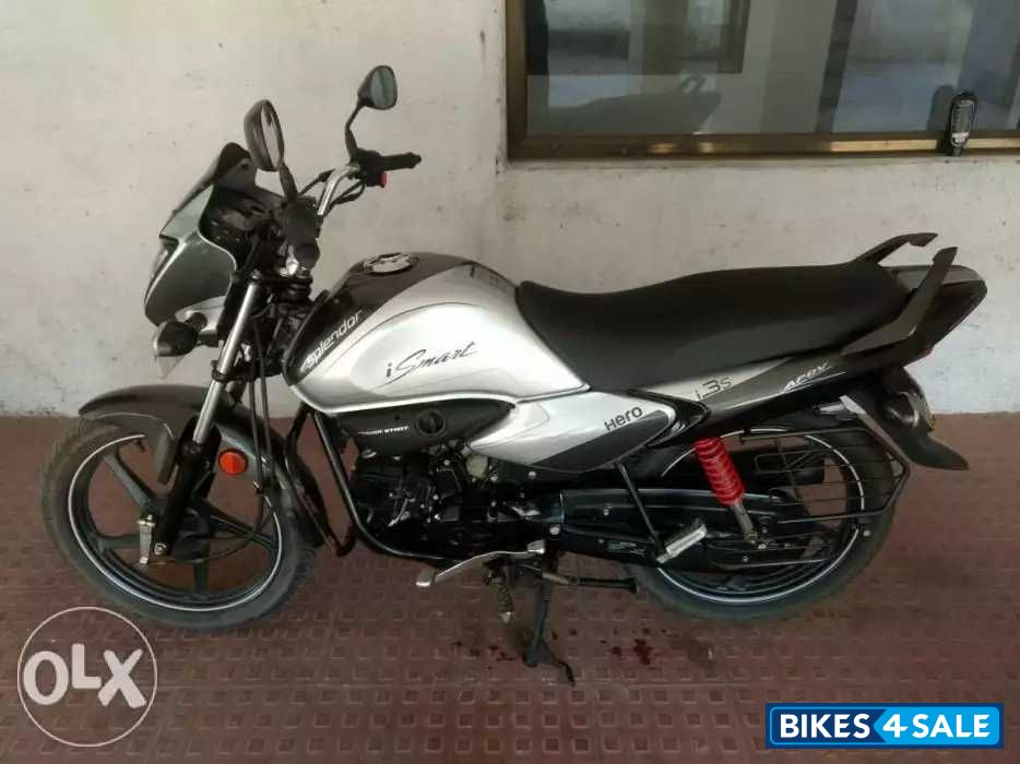 Silver And Grey Hero Splendor iSmart