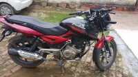 Black Red Bajaj Pulsar 150 DTSi