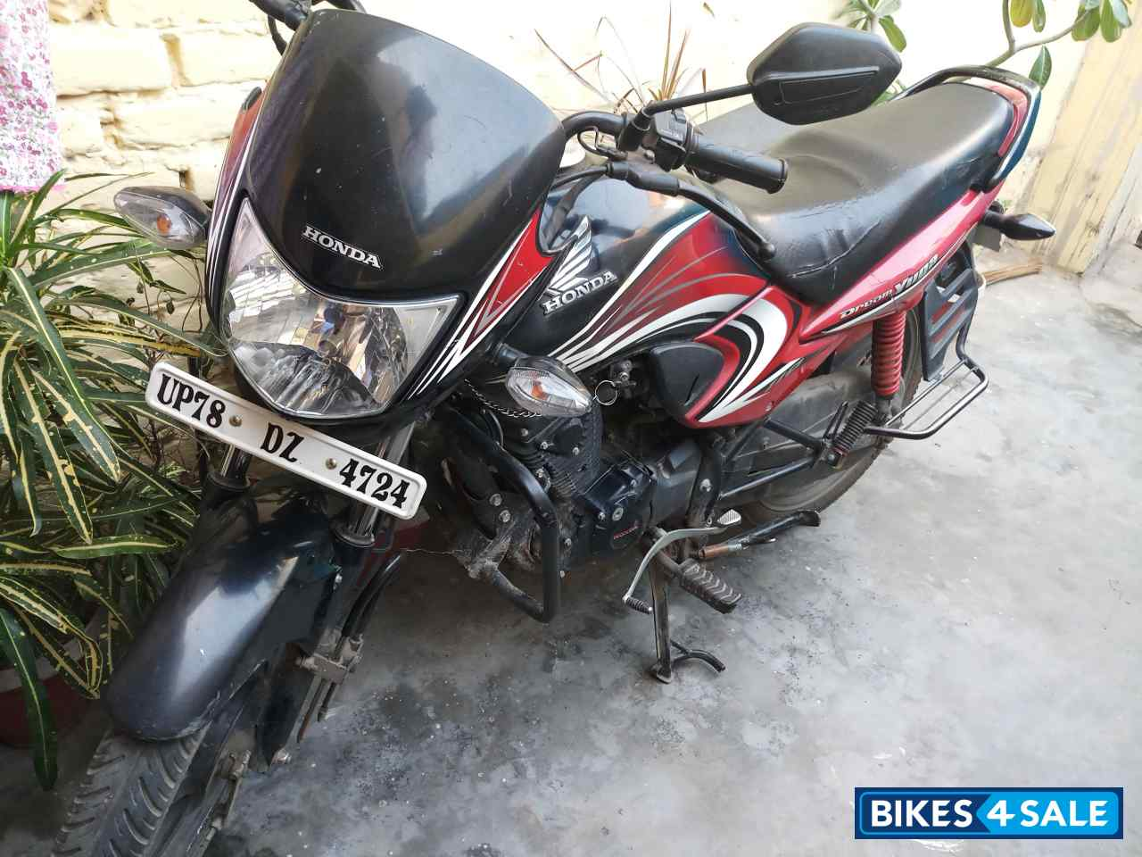 Used 2015 Model Honda Dream Yuga For Sale In Kanpur Nagar Id 190107 Red Black Colour Bikes4sale