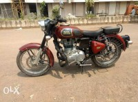 Royal Enfield Classic 350 Redditch Red 2017 Model