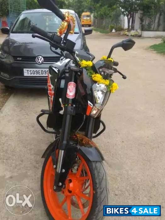 Used 2018 model KTM Duke 200 for sale in Hyderabad  ID