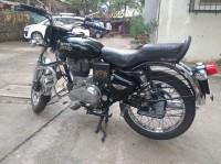Black Royal Enfield Bullet Electra Twinspark