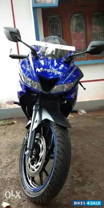 Used 2018 model Yamaha YZF R15 V3 for sale in Panaji  ID