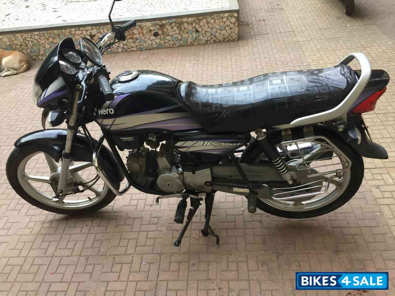 Used 2013 Model Hero Hf Deluxe For Sale In Mumbai Id 197288 Black And Purple Colour Bikes4sale