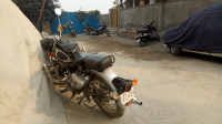 Silver Royal Enfield Classic 350