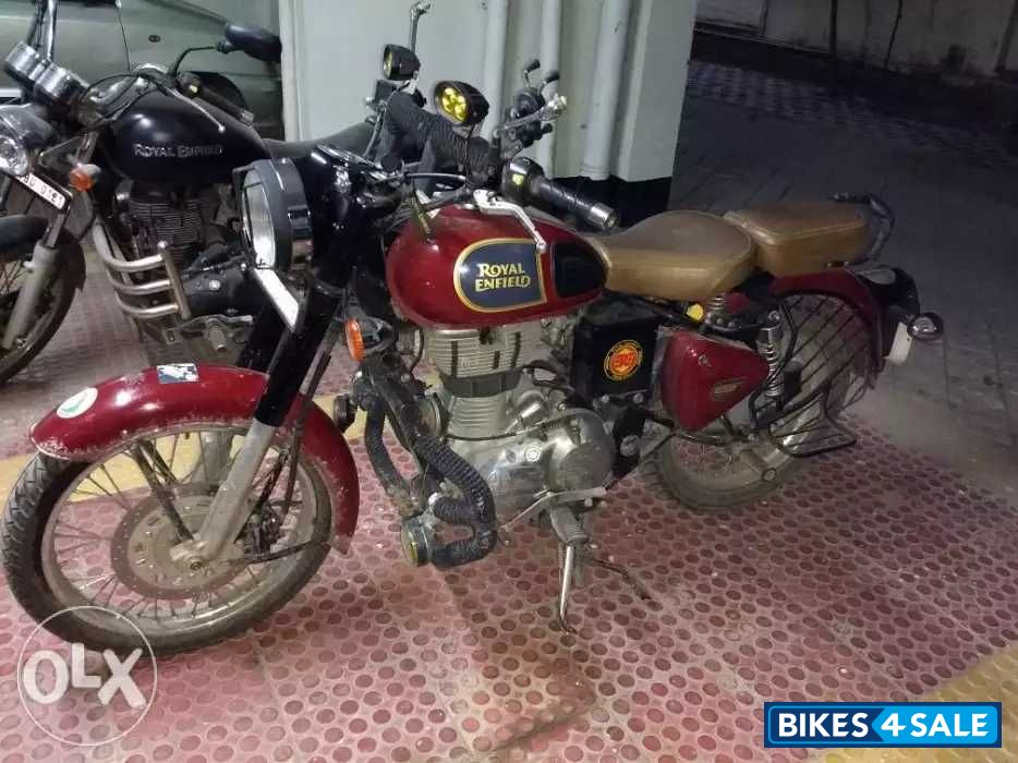 Used 2016 model Royal Enfield Classic 350 Redditch Red for