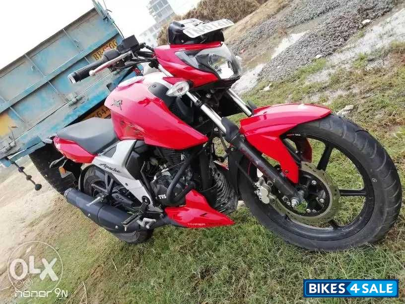 Used 2018 model TVS Apache RTR 160 4V for sale in Patna  ID