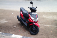Red And Black Yamaha Ray Z