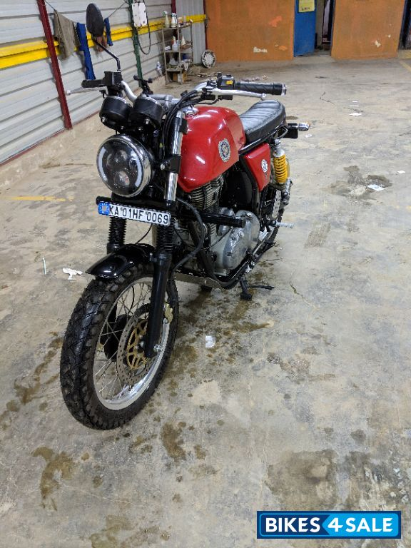 used 2014 model royal enfield continental gt 535 for sale in bangalore id 203452 red colour. Black Bedroom Furniture Sets. Home Design Ideas