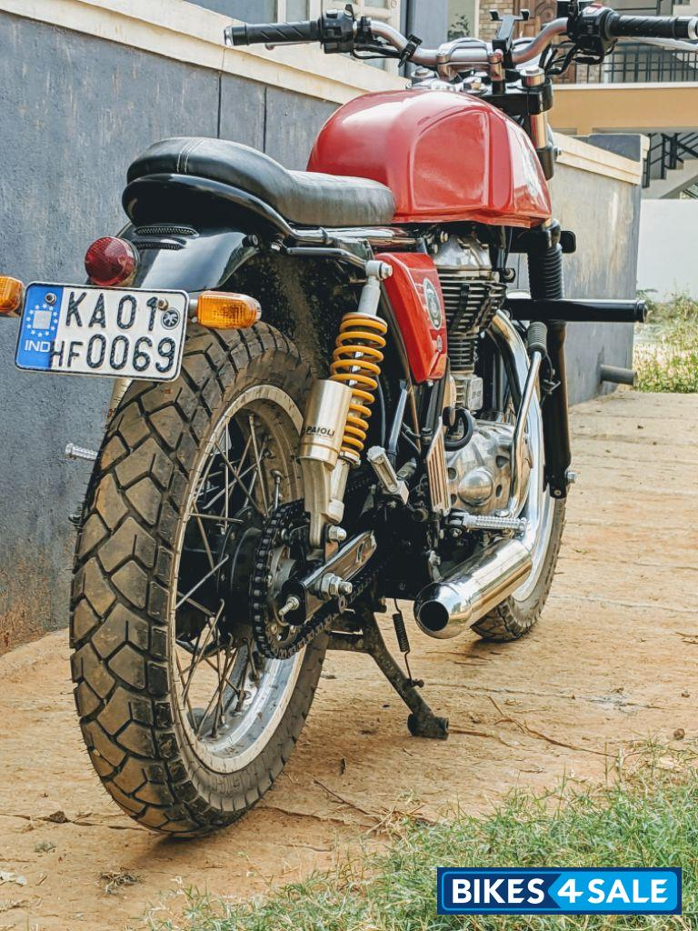 Red Royal Enfield Continental Gt 535 Picture 2 Bike Id 203452 Bike