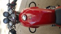 Red Royal Enfield Continental GT 535