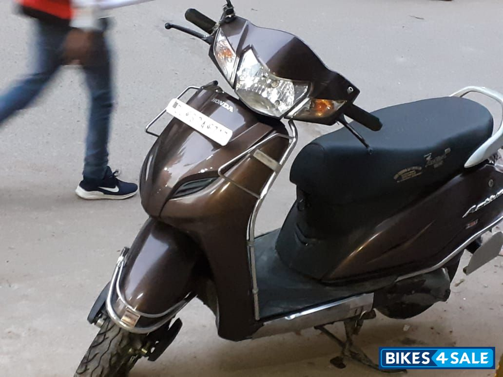 Brown Honda Activa 3g Picture 2 Bike Id 207714 Bike Located In