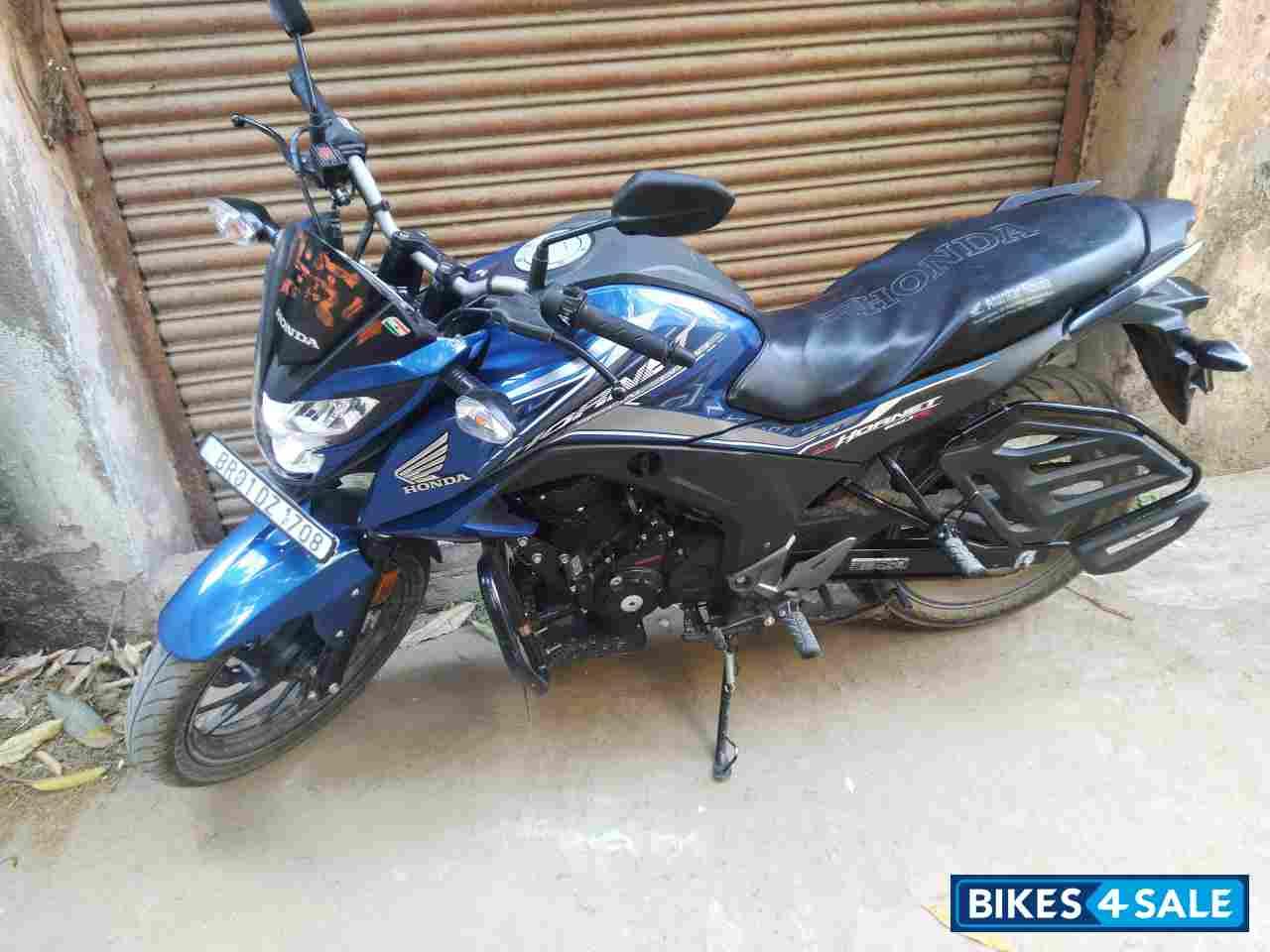 Used 2018 Model Honda Cb Hornet 160r Abs For Sale In Patna Id 209913 Blue Colour Bikes4sale