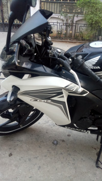 Black And White Honda CBR 150R
