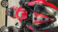 Red And Black Bajaj Pulsar AS 150