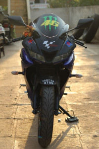 Used Yamaha YZF R15 in Hyderabad with warranty  Loan and